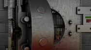 Stock Video Footage of Bank vault