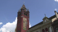 Stock Video Footage of Basel townhall tower
