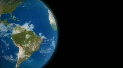 Loopable offset Earth, HD - stock footage