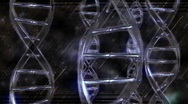 DNA Star Glass Up Stock Footage