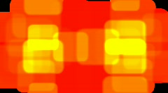 Stock Video Footage of Orange Block Transition with Matte