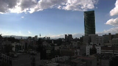 Mexico City Sunset TL Stock Footage