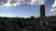 Stock Video Footage of Mexico City Sunset TL