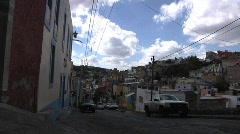 Guanajuato Drive By - stock footage