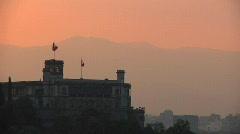 Chapultepec Castle TL Stock Footage