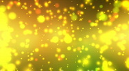 Stock Video Footage of Golden Sparkling Glitters - Motion Background 38 (HD)