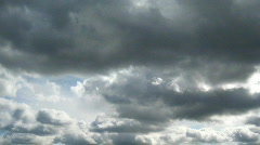 Dark clouds timelapse two Stock Footage