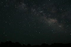 Milky Way Time Lapse Stock Footage