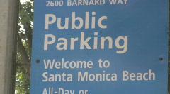 Santa Monica, California Stock Footage