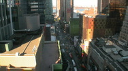 Stock Video Footage of New York 42nd Street