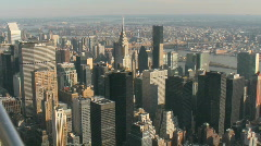 New York Skyline Stock Footage