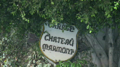 Chateau Marmont in Los Angeles, California - stock footage