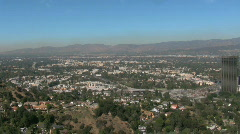 Studios in Los Angeles, California Stock Footage