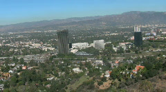 Studios in Los Angeles, California - stock footage