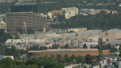 Studios in Los Angeles, California Stock Footage