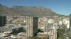 Cape Town inner city - stock footage