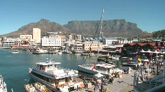 Stock Video Footage of Cape Town Waterfront