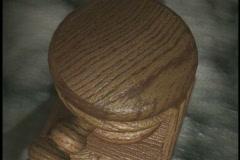 0404 Legal Wood Malte  Stock Footage
