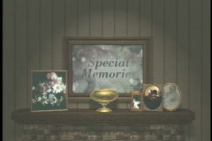 0414 Special Memories Fire Place Mantel  - stock footage