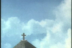 0417 The Chapel Bell Steeple  - stock footage