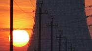 Industrial dawn timelapse3 Stock Footage