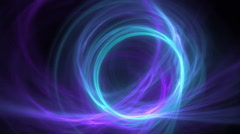 Blue ring on purple motion background d2379 Stock Footage