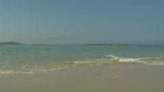 Tal Aviv beach 2 Stock Footage