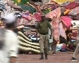 Blankets, Food & Aid for Internally Displaced Persons (IDP's) in Swat, Pakistan Footage