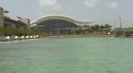 Puerto Rico Convention Center 4  Site of Playboy 50th Anniversary Stock Footage