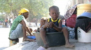 Needy Children (HD) c Stock Footage