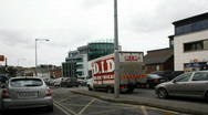 Drogheda Timelapse of an Irish Town 16 national irish bank Stock Footage