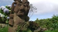 Stock Video Footage of statue in costa rica