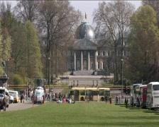 Royal Palace of Laeken Stock Footage