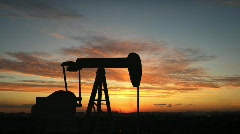 Oil pump - stock footage