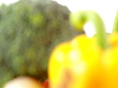 Rotating vegetables Stock Footage