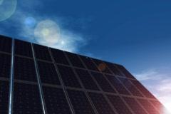 Solar Panels Stock Footage