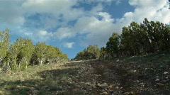 ATV climbing steep hill HD GP 0166 Stock Footage