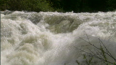 Stock Video Footage of Raging River in Spring 4