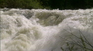 Raging River in Spring 4 Stock Footage