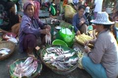 CAMBODIA-MARKET-FISH 1 - stock footage