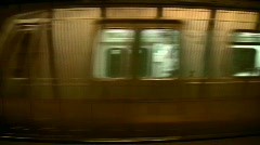 Subway Station   Full HD 1080p Stock Footage