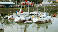 Courtown Marina Stock Footage