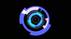 Hi-Tech Targeting Sensor Stock Footage