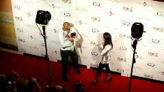 Marlon Shirley at venetian poker charity event 2 Stock Footage