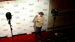 Marc McClure at poker room charity event Stock Footage