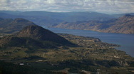 Stock Video Footage of Okanagan Lake and Valley