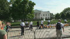 Immigration Civil Disobedience at the White House Stock Footage