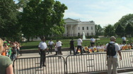 Stock Video Footage of Immigration Civil Disobedience at the White House
