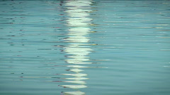 Small waves on the water 3 Stock Footage