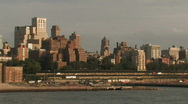 Stock Video Footage of Downtown Brooklyn Skyline